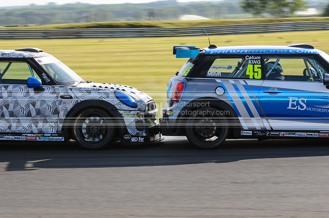 Brad Hutchinson - Mini F56 JCW & Calum King - ES Motorsport Mini F56 JCW