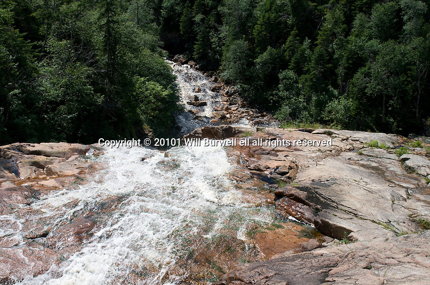 View down Southeast Brook Falls