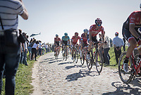 Jurgen Roelandts (BEL/Lotto-Soudal)<br /> <br /> 115th Paris-Roubaix 2017 (1.UWT)<br /> One Day Race: Compiègne › Roubaix (257km)