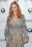 Christina Hendricks arriving at the LA Confidential Women Of Influence held at the Four Seasons Hotel Los Angeles, CA. July 16, 2015.