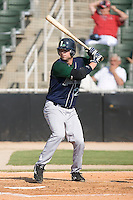 Max Sapp (27) of the Lexington Legends at bat at Fieldcrest Cannon Stadium in Kannapolis, NC, Sunday June 15, 2008.