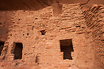 A t-shaped door in the Ancestral Pueblan ruin called the River House, near the San Juan River in the Shash Jaa Unit of the Bears Ears National Monument in southeastern Utah.