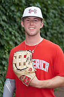 Cole Brannen (5) of The Westfield Schools High School in Elko, Georgia poses for a photo before the Under Armour All-American Game presented by Baseball Factory on July 23, 2016 at Wrigley Field in Chicago, Illinois.  (Mike Janes/Four Seam Images)
