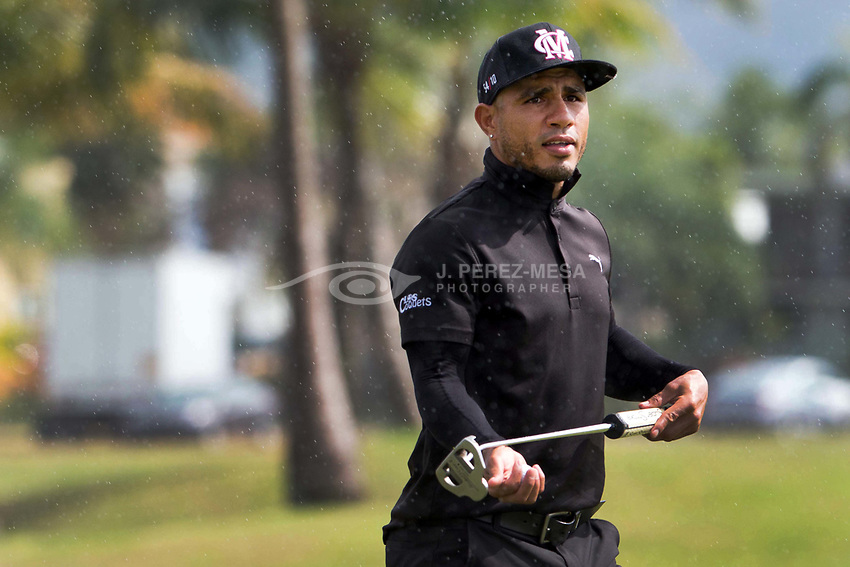 PR OPEN 2017 Starts with Pros and Famous Amateurs playing together. Puerto Rican professional boxer Miguel Ángel Cotto Vázquez, best known as Miguel Cotto, also said present at the PGA Puerto Rico Open 2017's Pro-Am game.  (Photo © J. Perez-Mesa / 2017)