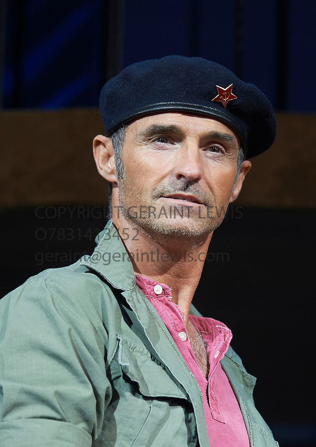 Evita . Music by Andrew Lloyd Webber, Lyrics by Tim Rice . With Marti Pellow as Che. Opens at The Dominion Theatre on 22/9/14. CREDIT Geraint Lewis