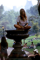 Central Park in New York City Summer of 1967. (© Richard B. Levine)