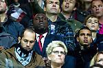 Nederland, Alkmaar, 20 oktober  2012.Eredivisie.Seizoen 2012-2013.AZ-N.E.C..Jozy Altidore en Adam Maher op de tribune