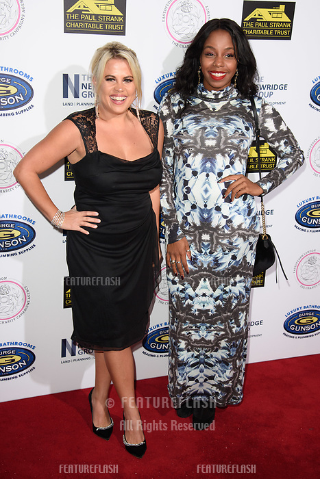 LONDON, UK. September 22, 2018: Nadia Essex & London Hughes at the Paul Strank Charitable Trust Annual Gala at the Bank of England Club, London.<br /> Picture: Steve Vas/Featureflash