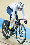 Pauline Sophie Grabosch of Germany competes in the Women's Keirin - Repechages during the 2017 UCI Track Cycling World Championships on 16 April 2017, in Hong Kong Velodrome, Hong Kong, China. Photo by Chris Wong / Power Sport Images