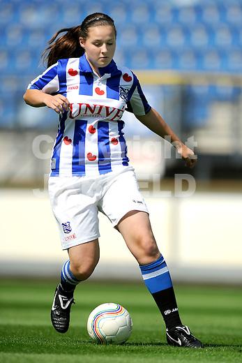 HEERENVEEN - Persdag Heerenveen Erdivisie vrouwen , seizoen 2011-2012, 07-07-2011 Melanie Hooghiemstra