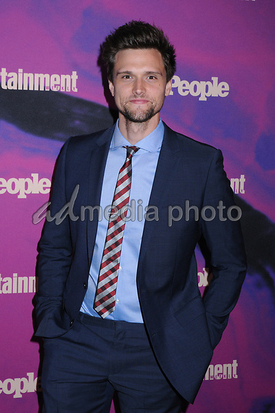 13 May 2019 - New York, New York - Hartley Sawyer at the Entertainment Weekly & People New York Upfronts Celebration at Union Park in Flat Iron. Photo Credit: LJ Fotos/AdMedia