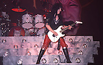 Mick Mars Motley Crue at Madison Square Garden Aug 1985.