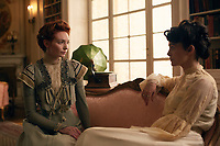 Colette (2018) <br /> Eleanor Tomlinson &amp; Keira Knightley.<br /> *Filmstill - Editorial Use Only*<br /> CAP/MFS<br /> Image supplied by Capital Pictures