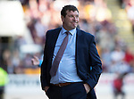 St Johnstone v Hearts…17.09.16.. McDiarmid Park  SPFL<br />Saints boss Tommy Wright<br />Picture by Graeme Hart.<br />Copyright Perthshire Picture Agency<br />Tel: 01738 623350  Mobile: 07990 594431