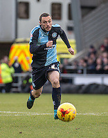 Michael Harriman of Wycombe Wanderers during the Sky Bet League 2 match between Northampton Town and Wycombe Wanderers at Sixfields Stadium, Northampton, England on the 20th February 2016. Photo by Liam McAvoy.