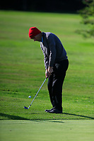 James Fox (Portmarnock) during the final of the Irish Mid-Amateur Open Championship, Royal Belfast Golf CLub, Hollywood, Down, Ireland. 29/09/2019.<br /> Picture Fran Caffrey / Golffile.ie<br /> <br /> All photo usage must carry mandatory copyright credit (© Golffile   Fran Caffrey)