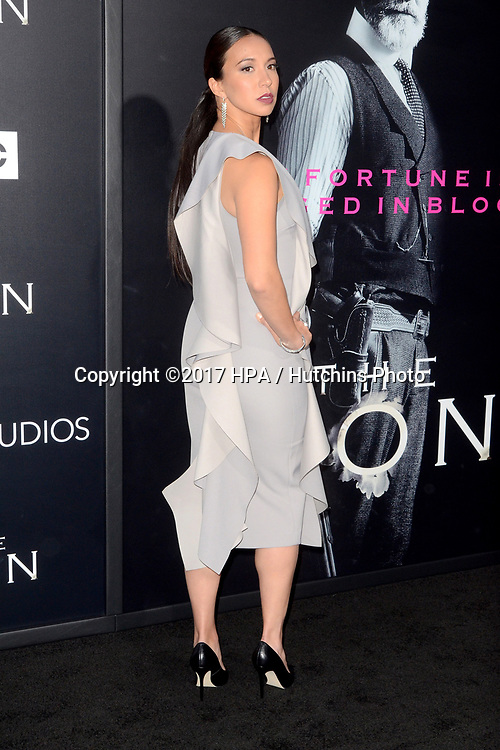"""LOS ANGELES - APR 3:  Elizabeth Frances at the AMC's """"The Son"""" Season One LA Premiere at ArcLight Theater on April 3, 2017 in Los Angeles, CA"""