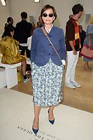 Dame Kristin Scott Thomas<br /> front row at the Jasper Conran London Fashion Week SS18 catwalk show, London<br /> <br /> ©Ash Knotek  D3431  15/09/2018