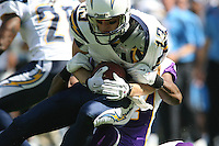 09/11/11 San Diego, CA: San Diego Chargers wide receiver Bryan Walters #13 during an NFL game played at Qualcomm Stadium between the San Diego Chargers and the Minnesota Vikings. The Chargers defeated the Vikings 24-17.