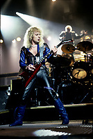 Judas Priest  performing in Chicago, Illinois. August 1986  <br /> CAP/MPI/GA<br /> &copy;GA//MPI/Capital Pictures