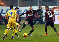 Ignazio Abate  during   Italian Serie A soccer match between Frosinone and AC Milan  at Matusa  Stadium in Frosinone ,December 20  , 2015