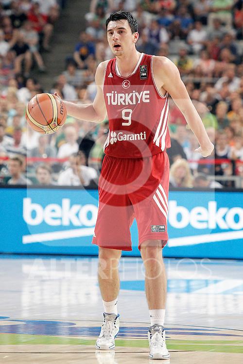 Turkey's Emir Preldzic during 2014 FIBA Basketball World Cup Quarter-Finals match.September 9,2014.(ALTERPHOTOS/Acero)
