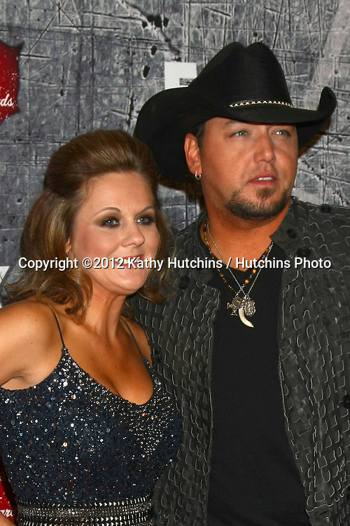 .LOS ANGELES - DEC 10:  Jason Aldean arrives to the American Country Awards 2012 at Mandalay Bay Resort and Casino on December 10, 2012 in Las Vegas, NV