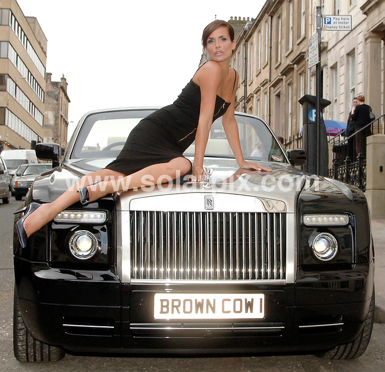 **ALL ROUND PICTURES FROM SOLARPIX.COM**.**WORLDWIDE SYNDICATION RIGHTS**.Sophie Anderton at the opening of The Brown Cow Club in Glasgow Scotland yesturday..JOB REF: 4389-JGS        DATE:26_07_07.**MUST CREDIT SOLARPIX.COM OR DOUBLE FEE WILL BE CHARGED* *UNDER NO CIRCUMSTANCES IS THIS IMAGE TO BE REPRODUCED FOR ANY ONLINE EDITION WITHOUT PRIOR PERMISSION*