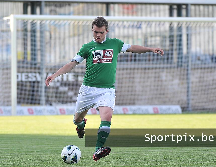 Torhout KM - Club Brugge KV : Mathias Lowyck<br /> foto VDB / Bart Vandenbroucke