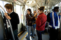 LYNX, the newest addition to Charlotte's Mass Transit system, is a 9.6-mile-long light rail that opened in November 2007. LYNX, the newest addition to Charlotte's Mass Transit system, is a 9.6-mile-long light rail that opened in November 2007. ..No model releases (editorial only)
