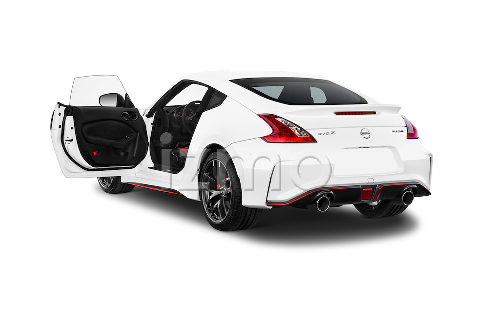 Car images of a 2015 Nissan 370Z NISMO 2 Door Coupe Doors