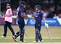Varun Chopra and Adm Wheater of Essex during Essex Eagles vs Middlesex, Vitality Blast T20 Cricket at The Cloudfm County Ground on 6th July 2018