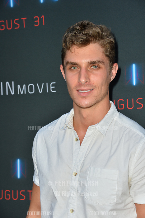"LOS ANGELES, CA. August 29, 2018: Alex Cubis at the premiere of ""KIN"" at the Arclight Theatre, Hollywood."