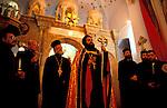 Bethlehem, Christmas ceremony at the Syrian Orthodox St. Mary Church&#xA;&#xA;<br />