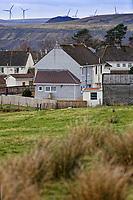 Pictured: Monday 26 November 2018<br /> Re: Andrew Sayers at Cefnbrynbrain near Cwmllynfell, Wales, UK.