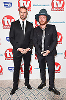 LONDON, UK. September 10, 2018: Paddy McGuinness &amp; Leigh Francis at the TV Choice Awards 2018 at the Dorchester Hotel, London.<br /> Picture: Steve Vas/Featureflash