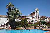 Barcelo hotel complex in Isla Canela, Spain