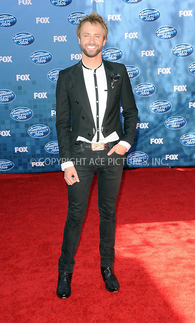 WWW.ACEPIXS.COM . . . . .  ....May 25 2011, Los Angeles....Paul McDonald arriving at the 'American Idol' season 10 finale results show at the Nokia Theatre LA on May 25, 2011 in Los Angeles, California. ....Please byline: PETER WEST - ACE PICTURES.... *** ***..Ace Pictures, Inc:  ..Philip Vaughan (212) 243-8787 or (646) 679 0430..e-mail: info@acepixs.com..web: http://www.acepixs.com