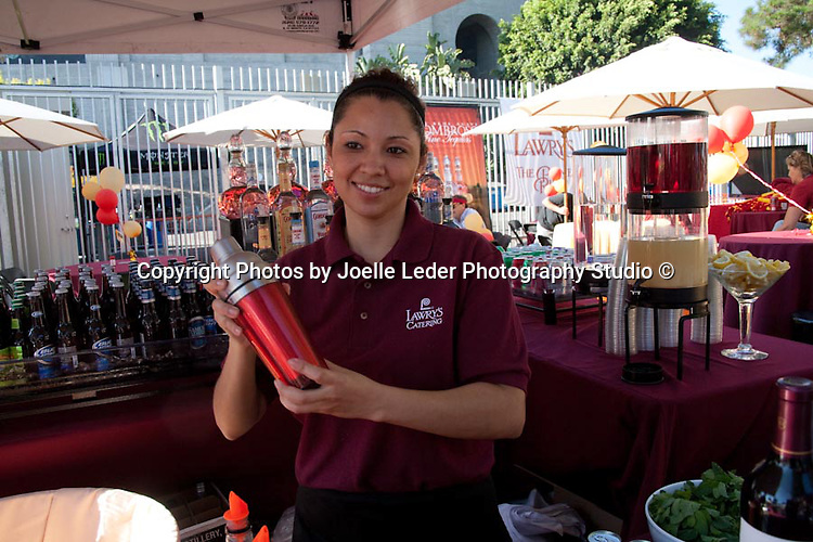 """""""Lawry's Prime Rib Catering"""" of Beverly Hills CA   Commissioned to take photographs for USC Tailgate party at USC first football home game in 2012. These photos will be used in brochures, website, facebook, press releases & more   9.11.10   Photos by Joelle Leder Photography Studio ©"""