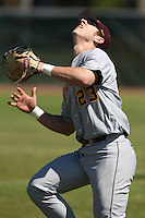 February 28, 2010:  First Baseman Nick O'Shea of the Minnesota Golden Gophers during the Big East/Big 10 Challenge at Raymond Naimoli Complex in St. Petersburg, FL.  Photo By Mike Janes/Four Seam Images