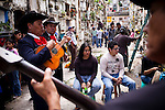 Guatemalans celebrate Dia de los Muertos at Cementario General, in Guatemala City, Guatemala, on Tuesday, Nov. 1, 2011.
