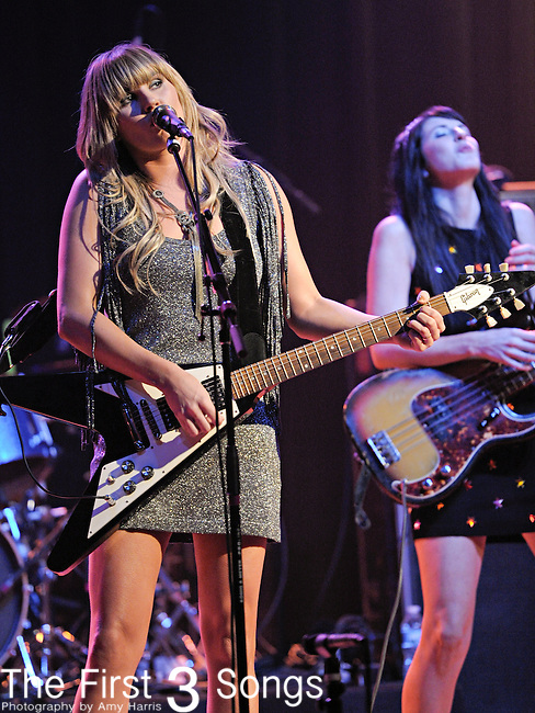 Grace Potter of Grace Potter and The Nocturnals performs at the Madison Theater in Covington, Kentucky near Cincinnati.