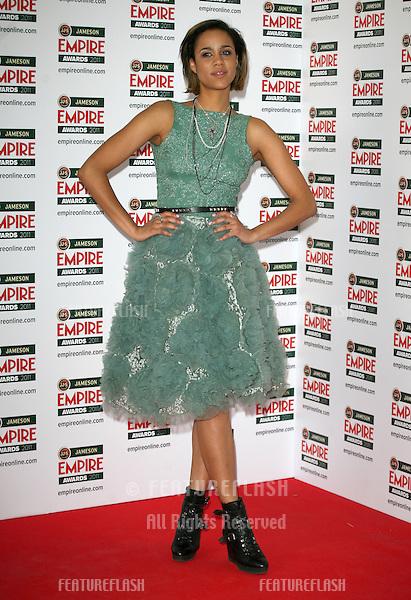 Zawe Ashton arriving for the Jameson Empire Awards 2011, Grosvenor House Hotel, London. 27/03/2011  Picture by: Alexandra Glen / Featureflash