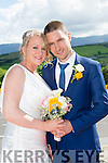 Nuala Woulfe, Asdee Listowel, daughter of P J Woulfe and the late Kathleen Woulfe, and Jeremiah Costello, Asdee Listowel, son of John and Ann Costello, were married at Glin Church by Fr. Crawford on Thursday 2nd July 2015 with a reception at Ballyroe Heights Hotel