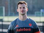 UTRECHT - Sander Baart , away  shirt speler Nederlands Hockey Team heren. COPYRIGHT KOEN SUYK