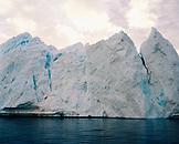 GREENLAND, Ilulissat, Ilulissat Icefjord, Disco Bay, an iceberg
