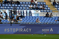 'Stop piracy' Inscription on the advertising banner <br /> Roma 19-10-2019 Stadio Olimpico <br /> Football Serie A 2019/2020 <br /> SS Lazio - Atalanta<br /> Foto Andrea Staccioli / Insidefoto