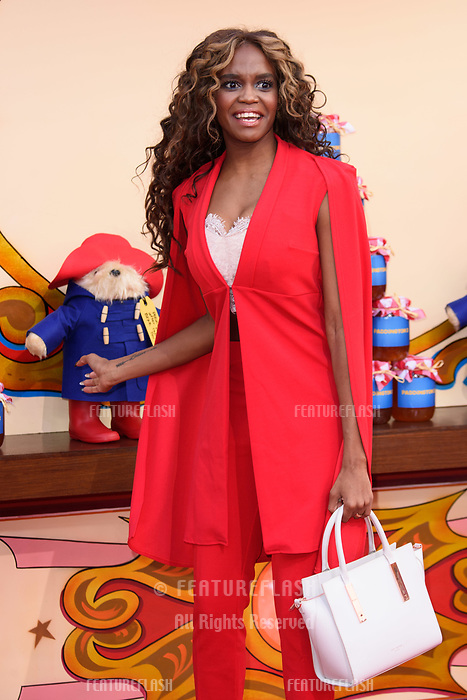 Oti Mabuse at the &quot;Paddington 2&quot; premiere at the NFT South Bank, London, UK. <br /> 05 November  2017<br /> Picture: Steve Vas/Featureflash/SilverHub 0208 004 5359 sales@silverhubmedia.com