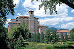 30 July 2008:   The Broadmoor, site of the 2008 US Senior Open Championship at The Broadmoor, Colorado Springs, CO.