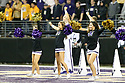 SEATTLE, WA - September 07:  Washington cheer member Isabelle Miller entertained fans during the college football game between the Washington Huskies and the California Bears on September 07, 2019 at Husky Stadium in Seattle, WA. Jesse Beals / www.Olympicphotogroup.com